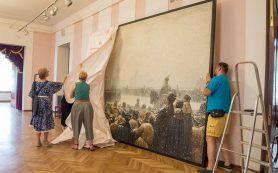 В Петербург вернули картину «Казнь заговорщиков в России»