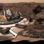 Ровер Curiosity раскрывает марсианские тайны в условиях стихающей песчаной бури П
