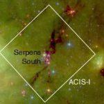 «Чандра» обнаруживает молодые звезды, лишенные дисков