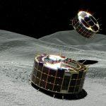 Японские роботы начали изучение астероида