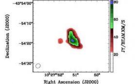 Галактика NGC 3256 содержит большие количества темной материи, выяснили ученые