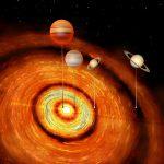 Планетная система молодой звезды бросает вызов современным моделям