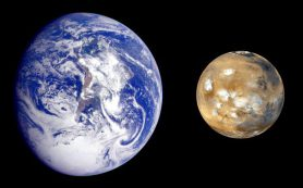 Что делает «брата и сестру», Марс и Землю, такими непохожими друг на друга