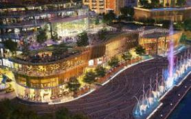 В Бангкоке открылся молл с речным парком и плавучим рынком