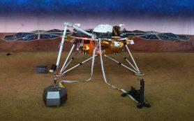 После успешной посадки на Марсе зонд InSight готовится получать научные данные