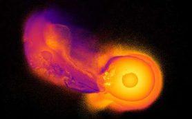 Уран оказался «на боку» в результате космического столкновения