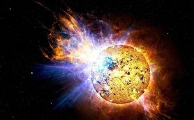 Вспышка на молодой звезде может стимулировать формирование планет