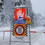 В Австрии объявлена опасность схода лавин в Альпах