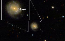 Астрономы впервые запечатлели рождение черной дыры или нейтронной звезды