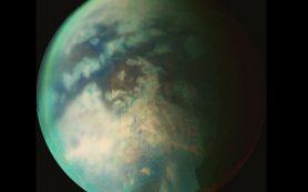 Дождь на северном полюсе Титана свидетельствует о смене сезонов