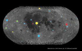 Лунные кратеры указали на рост частоты бомбардировки астероидами древней Земли