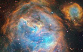 Пузыри, в которых формируются новые звезды