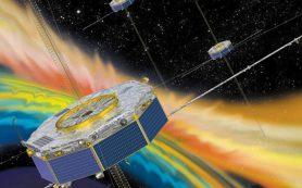 Волны в плазме нагревают электроны солнечного ветра в магнитосфере Земли