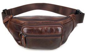 Поясная сумка кожаная мужская: купить или нет?