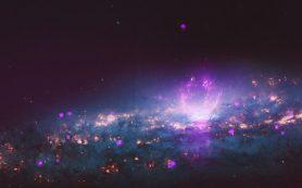 Пара гигантских пузырей испускает космические лучи в сторону Земли