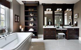 Ванная комната: английский аристократизм дизайна