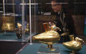 В Петербурге впервые показали произведения ювелирного искусства доколумбовых цивилизаций Перу и Боливии