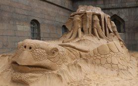 Фестиваль песчаных скульптур открылся в Петропавловской крепости