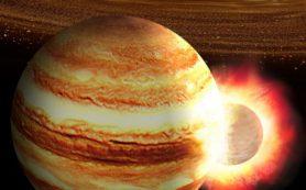 Ядро Юпитера могло сформироваться в результате гигантского лобового столкновения