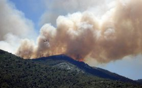 Сильные пожары в Европе пока не удается взять под контроль