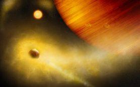 Ученые, возможно, обнаружили вулканически активный спутник экзопланеты