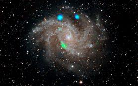 Рентгеновская вспышка в галактике Фейерверк приводит астрономов в недоумение