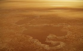 Некоторые из озер спутника Сатурна Титана могут иметь «взрывное происхождение»