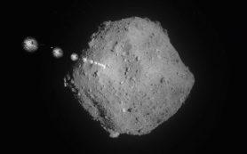 Hayabusa2 сбрасывают маркер-мишени на астероид Рюгу