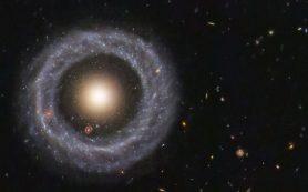 Объект Хога — это галактика внутри галактики