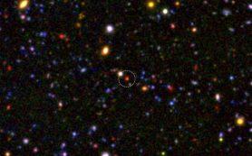 Ядра галактик сформировались через 1,5 миллиарда лет после Большого взрыва