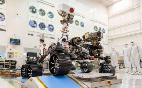 Марс 2020 проходит тест-драйв