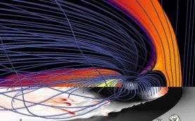 Ночную сторону Земли бомбардируют пузыри плазмы солнечного ветра