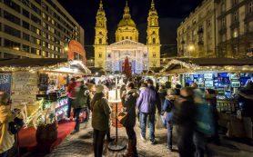 Рождественский базар в Будапеште признан лучшим в Европе в этом году