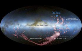 Грядущее столкновение уже стимулировало рождение новых звезд в Галактике