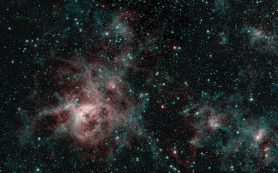 Туманность Тарантул плетёт паутину таинственности на новом снимке