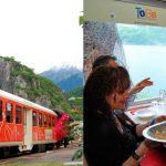 Новшество в сфере туризма – поезд для гурманов