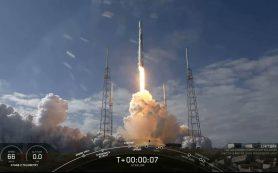 SpaceX запускает 60 спутников Starlink, но теряет первую ступень