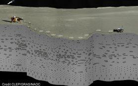 Миссия «Чанъэ-4» помогла выяснить состав поверхности Луны до глубины в 40 метров