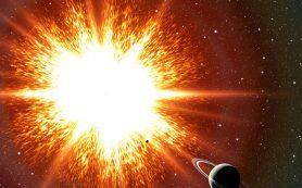 Полет на волне от взрыва сверхновой