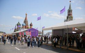 Началась подготовка к фестивалю «Красная площадь»
