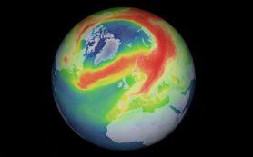 Озоновая дыра в три раза больше Гренландии открывается над Северным полюсом