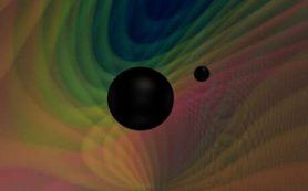 Детекторы LIGO и Virgo уловили первую гравитационную волну от слияния черных дыр