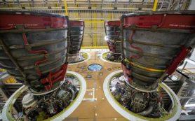 НАСА заказывает еще 18 двигателей для своей космической ракеты