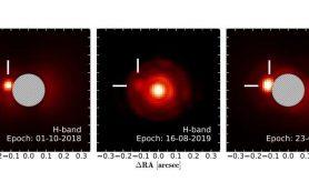 Звезда RZ Piscium имеет звездный спутник с низкой массой