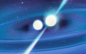 Две сливающиеся нейтронные звезды разных масс помогут раскрыть тайны Вселенной