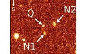 Открыто два новых «красноватых» квазара с высоким красным смещением