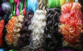 Самые популярные карнавальные парики