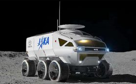 JAXA и Toyota называют будущий лунный пилотируемый вездеход LUNAR CRUISER
