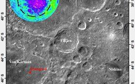 Геологический возраст лунного кратера Финсен составил 3,5 миллиарда лет