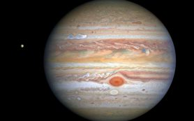 «Хаббл» делает новый четкий «портрет» атмосферных вихрей Юпитера